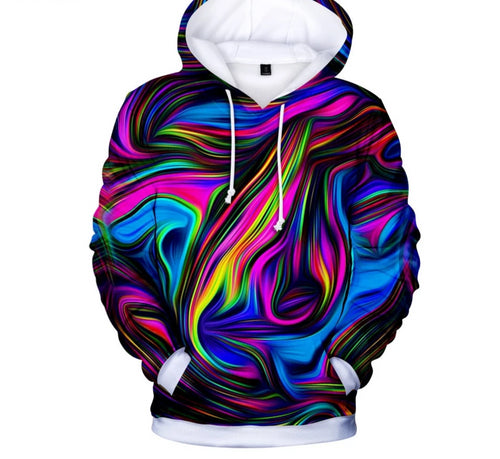 Colorful Life 3D Hoodies