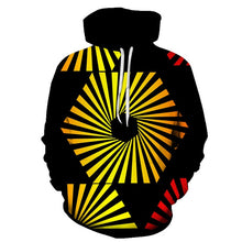 Load image into Gallery viewer, Geometric 3D HoodIes