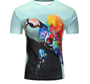 New Galaxy Space 3D T Shirt