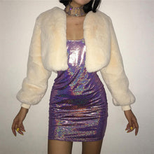 Load image into Gallery viewer, Glitter Holographic Laser Dress