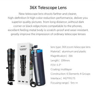 36x Telescope Lens with Tripod APEXEL