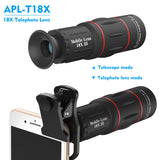Clip ultra premium telephoto lens mobile camera 18x smartphone zoom lens for mobile