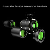 APEXEL Optic Mobile Phone Camera Lens 5in1 fisheye wide 16x Telescope 5IN1 Lens Kit