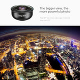Full Screen Fisheye Lens for iPhone with Case APEXEL