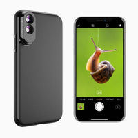 iPhone Camera Lens Kit with Case APEXEL 10X Macro Lens & 20X Macro Lens iPhone Xs