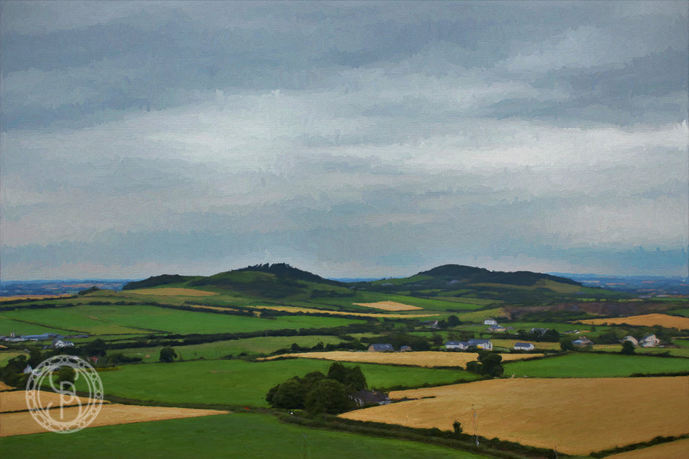 Rock of Dunamaise. View from. no. III