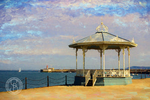 Dun Laoghaire. Bandstand on East Pier