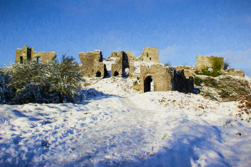 Rock of Dunamaise, Winter Wonderland