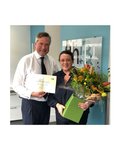 ehB lettings manager celebrates 20 happy years with Leamington estate agency