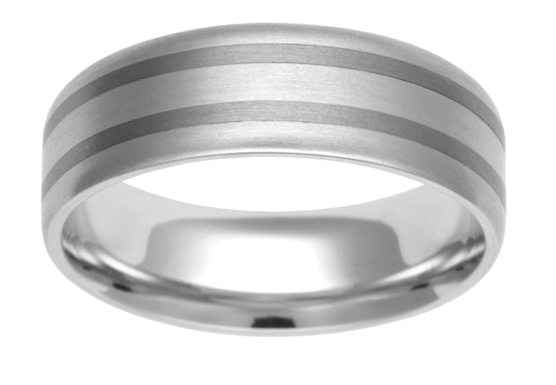 Bi Metal Wedding Band