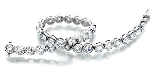 Flexi-Link Eternal Rub over Diamond Bracelet