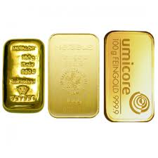 100g Gold investment bar