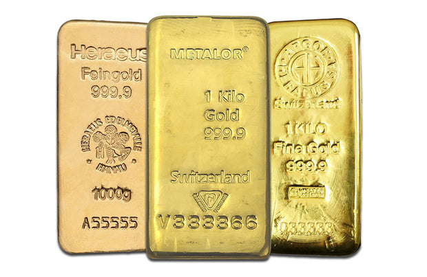 1 Kilo Gold investment bar