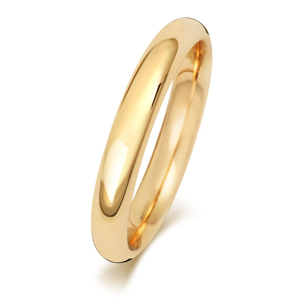 Ladies Traditional Court Wedding band