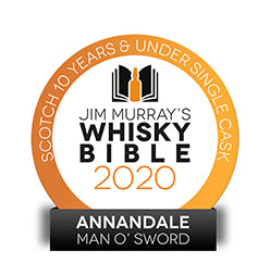 Our Man O'Sword wins Best Single Cask, Single Malt Scotch Whisky 10 years & under!