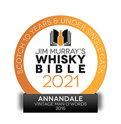 Annandale 2015 Single Malt Wins Again
