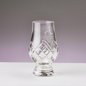 Cut Crystal Snifter Glass