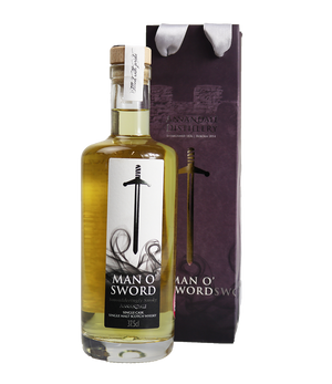 Half Bottle Vintage 2015 Man O'Sword – Ex-Bourbon Cask 35 (61%ABV)