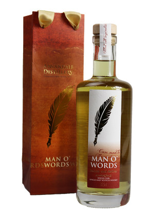 Half Bottle Vintage 2015 Man O'Words – Ex-Bourbon Cask 144 (60.8%ABV)