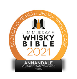 Vintage 2015 Man O' Words – Ex-Bourbon Cask 150 (61.6%ABV)