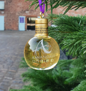 Man O' Words - Whisky Bauble