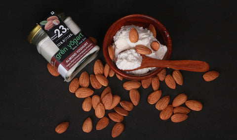 Grenyogert Almond Yoghurt (Curd) at best prices in Mumbai