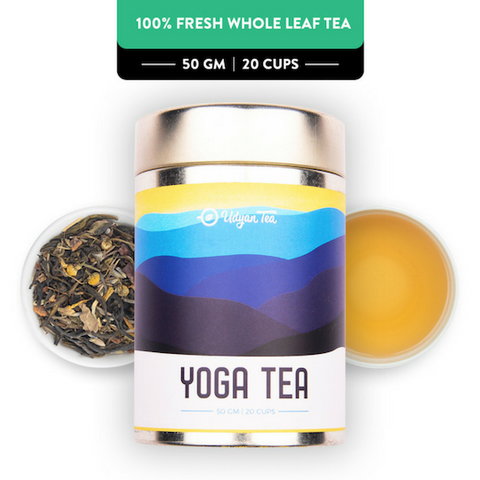 Yoga Tea, Vegan, Dairyfree Tea, Healthy Tea, Natural