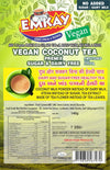 Emkay Instant Vegan Coconut Tea Premix 140g (Sugar Free (Sweetened with Stevia))
