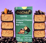 Coffee Almond Cheese Protein Bar - Pack of 3 - PUNE ONLY