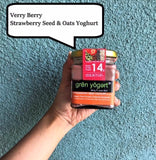 Grenyogerts High Protein Probiotic Strawberry Seed oats Yoghurt - MUMBAI ONLY