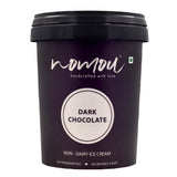 Nomou Dark Chocolate Plant Based Gelato, 500ml [Made with Natural Ingredients]- MUMBAI ONLY
