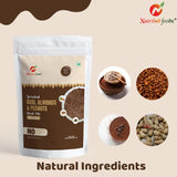 Sprouted Ragi, Almonds & Peanuts Drink Mix [Chocolate] -- Source of Protein, Fiber & Iron -- 200g