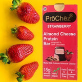 Strawberry Almond Cheese Protein Bar - Pack of 2 - MUMBAI ONLY