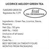 Licorice Melody Green Tea - Champagne Gold Gift Caddy, 50 gm | 20 cups