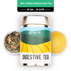 Digestive Tea - Champagne Gold Gift Caddy, 50 gm | 20 cups
