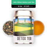 Detox Tea - Champagne Gold Gift Caddy, 50 gm | 20 cups