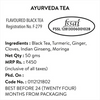 Ayurveda Tea - Champagne Gold Gift Caddy, 50 gm | 20 cups