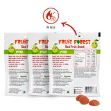 Fruit Forest Real Fruit Gummy Pear Pack of 3 | Pear Flavour (3 X 30 GMS)