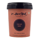 Nomou Cacao Nibs Plant Based Gelato, 500ml[Natural Ingredients]-MUMBAI ONLY