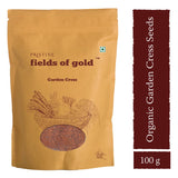 Pristine Fields Of Gold Gardencress Seeds (100 gm)