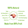 Fruit Forest Real Fruit Gummy Strawberry Pack of 3 | Strawberry Flavour (3 X 30 GMS)