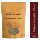 Pristine Fields of Gold Organic Coriander (Whole) (100 gm)