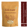 Pristine Fields of Gold Organic Sonamasoori Rice (Brown) (1 kg)