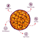 EAT Anytime Mindful Healthy Crunchy & Spicy Chick Peas Peri Peri, 400g