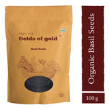 Pristine Fields Of Gold Basil Seeds (100 gm)