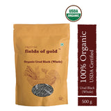 Pristine Fields of Gold Organic Urad Black Dal (Whole) (500 gm)