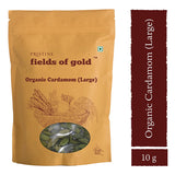 Pristine Fields of Gold Organic Cardamom (Large) (10 gm)