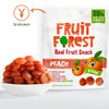 Fruit Forest Real Fruit Gummy Peach Pack of 3 Peach Flavour 3 X 30 GMS