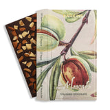70% Dark Chocolate with Almonds | Pack of 2