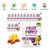 Fruit Forest Real Fruit Gummy Party Pack of 14 | Vegan | Mango Passion Fruit (14 X 30 GMS )
